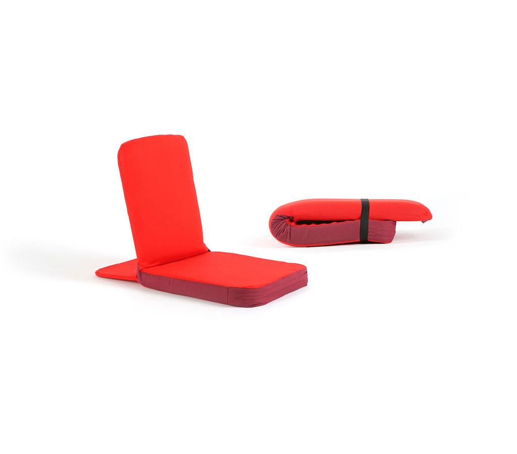 silla de meditaci n roja la tenda de guncha On sillas de meditacion